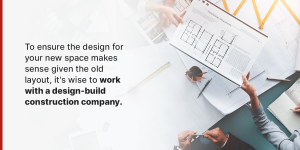 work with a design-build construction company